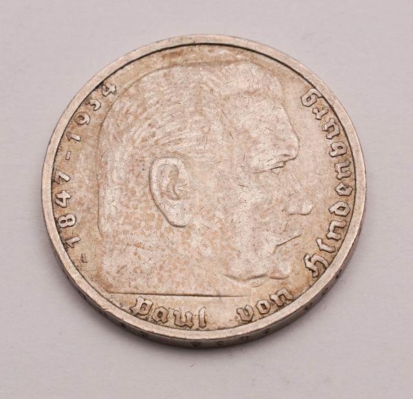 5 Reichsmark Hindenburg 1936