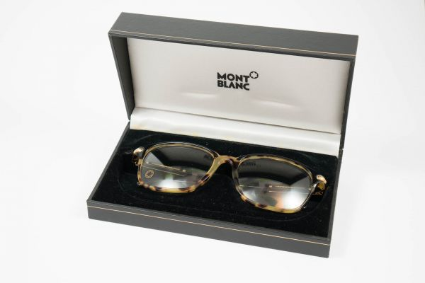 Montblanc Brille Sehhilfe tortoise