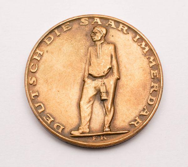 Münze Deutsch die Saar immer dar