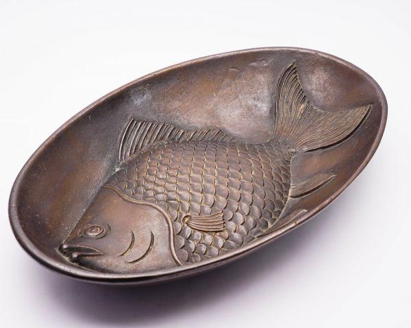 Valenti Bronze Schale Fisch Spain