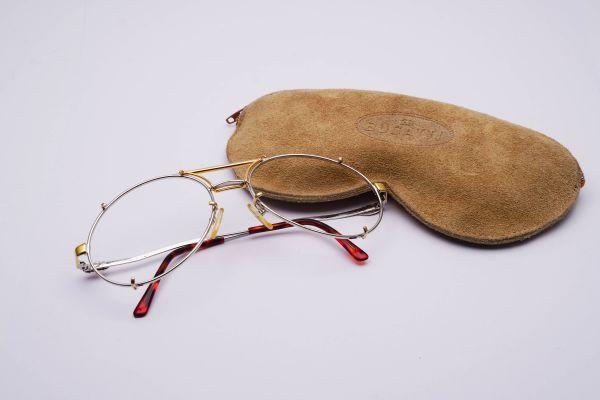 Bugatti Brillengestell mit Etui