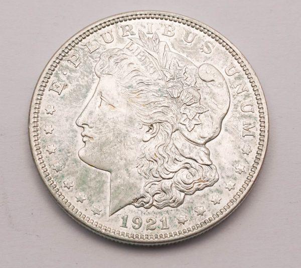 Münze E Pluribus unum 1921 One Dollar Silver