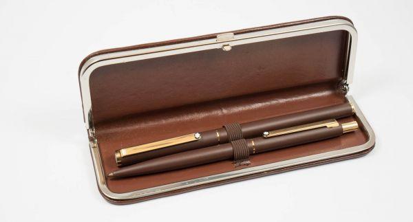 Montblanc Set Kugelschreiber und Bleistift im Etui