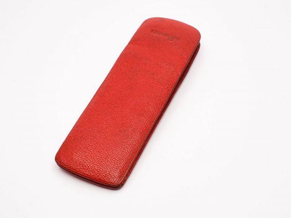 Montblanc Etui 60er Jahre rot