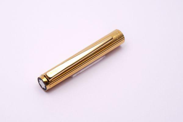 Montblanc Kappe für Füller slimline vergoldet