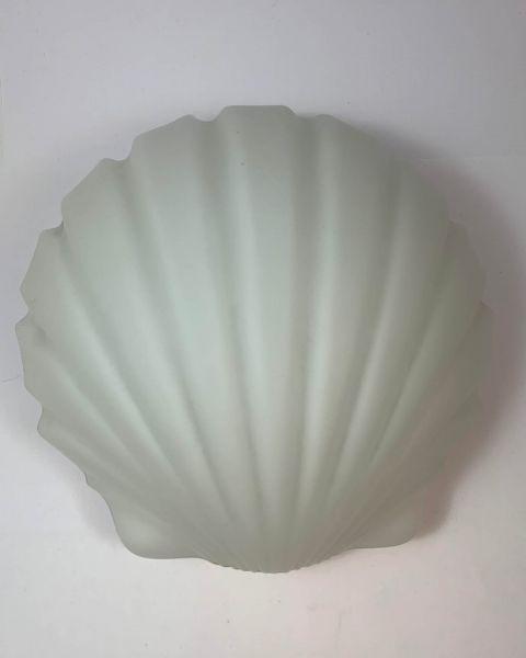 Wandlampe Muschelform 70er Jahre