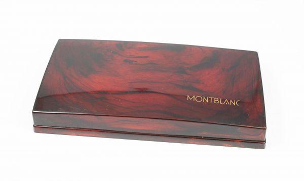 Montblanc Box Bakelit gestreift marmoriert