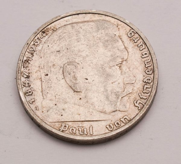 5 Reichsmark Hindenburg 1935